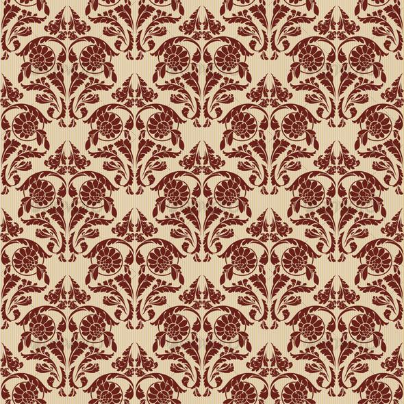 vector seamless renaissance wallpaper - photo #22
