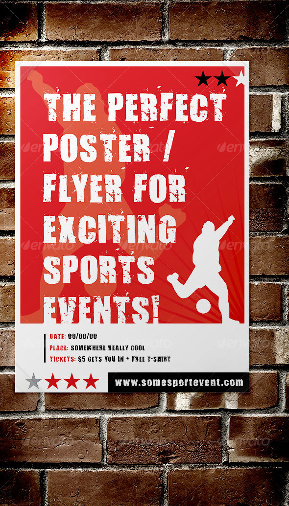GraphicRiver Sport Event Poster Flyer 42220