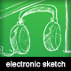 Sketch of an electronic objects - GraphicRiver Item for Sale