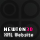 Newton3D XML Website - ActiveDen Item for Sale