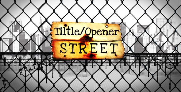After Effects Project - VideoHive Title Opener Street 128563