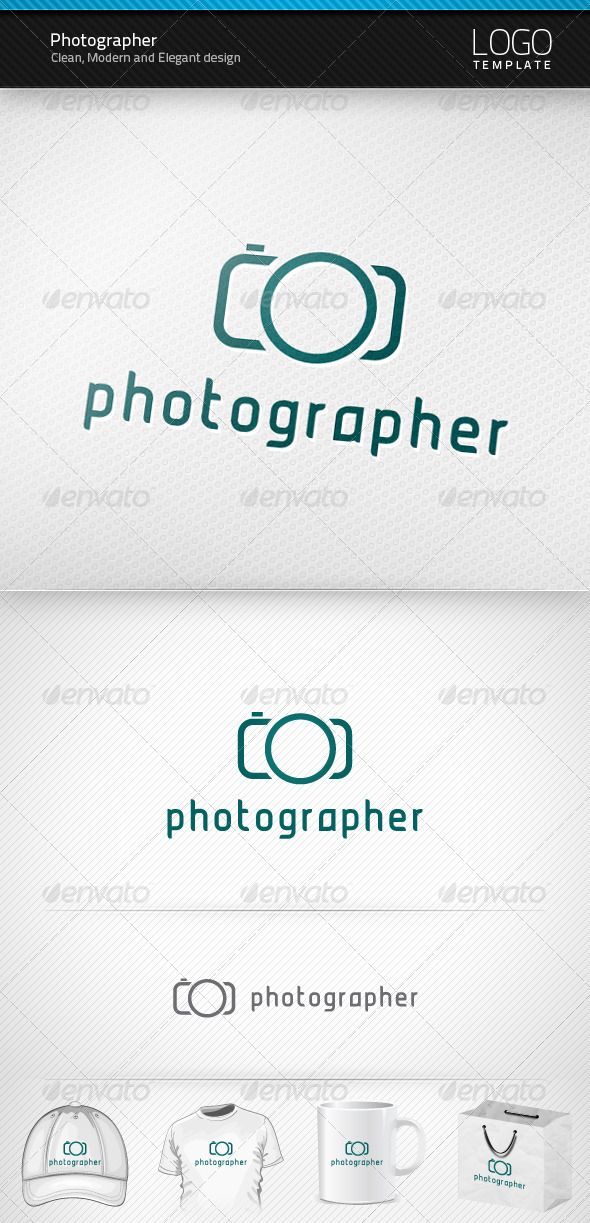 Graphic River Photographer Logo Logo Templates -  Symbols 1025874