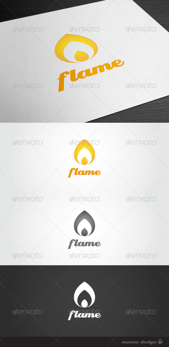 Graphic River Flame Logo Logo Templates -  Symbols 1032439
