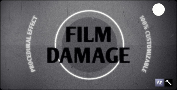 After Effects Project - VideoHive Film Damage 129368