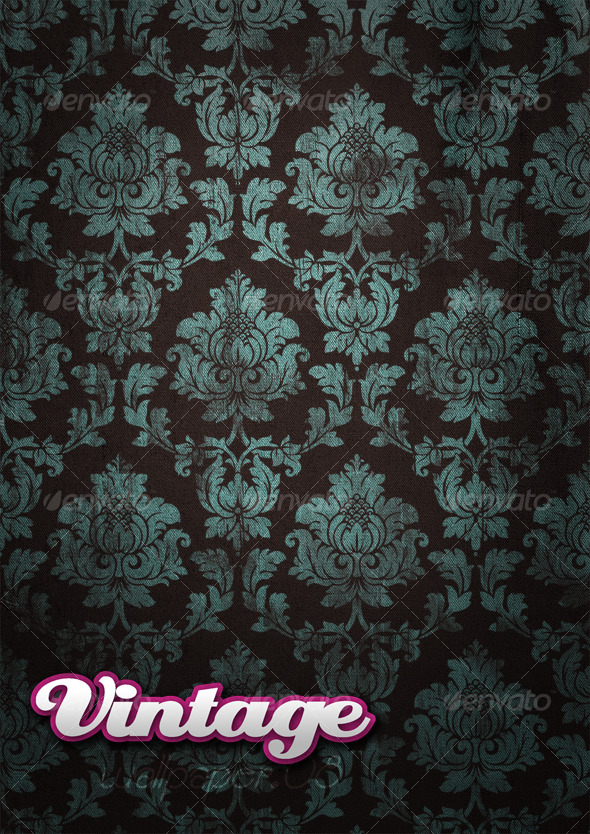 GraphicRiver Vintage Wallpaper 08 129387