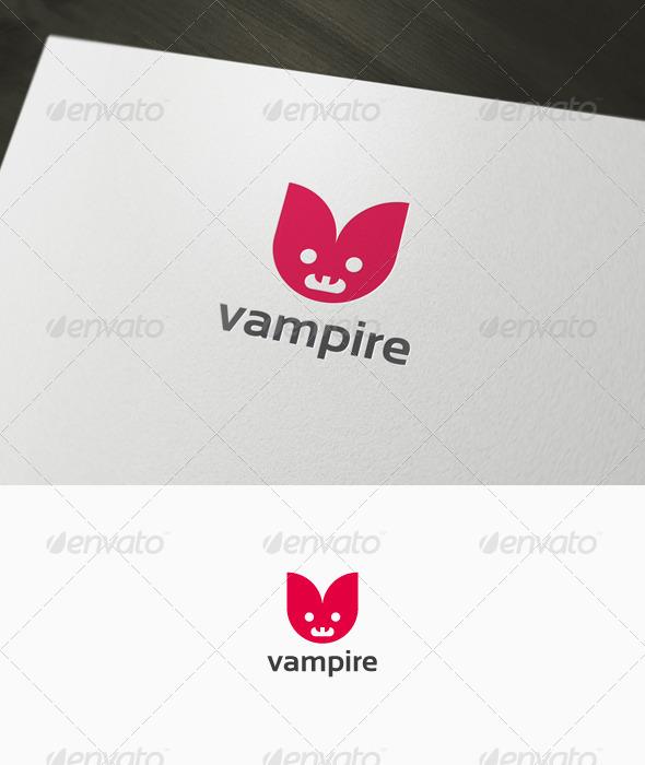 Graphic River Vampire Logo Logo Templates -  Animals 1033606
