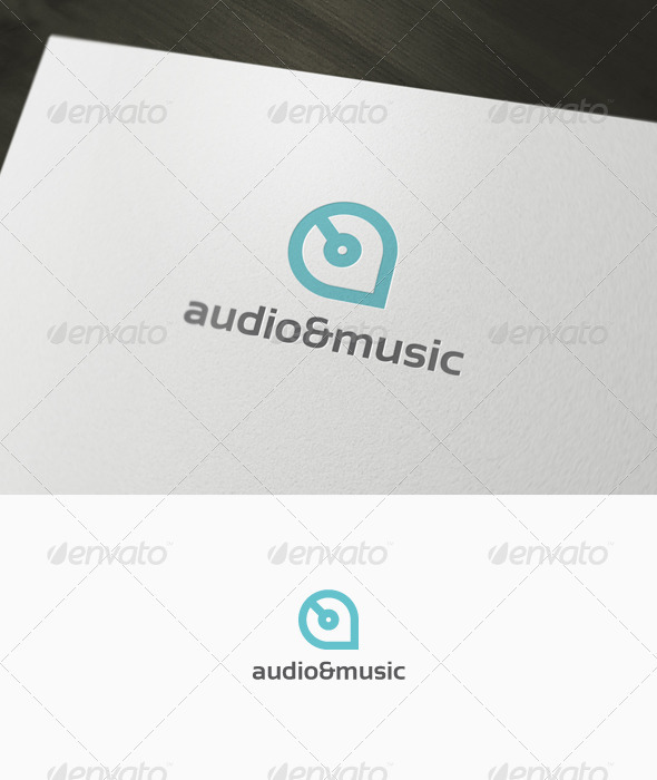 Graphic River Audio & Music Logo Logo Templates -  Letters 1034011