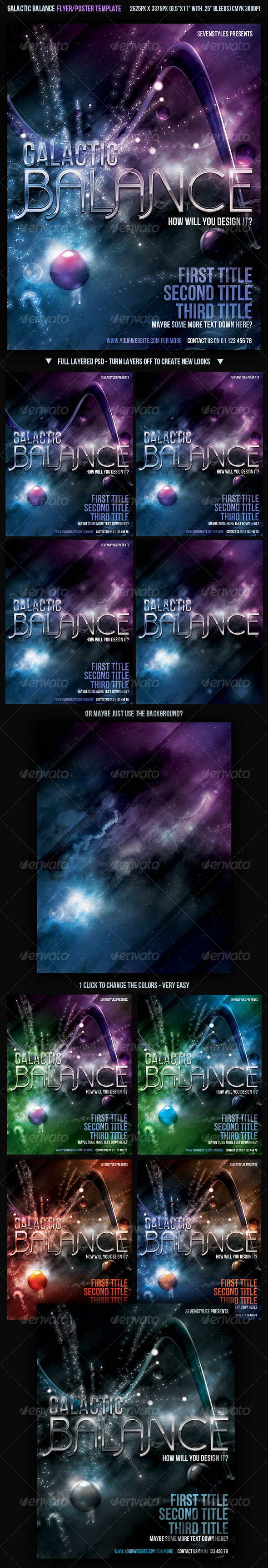 GraphicRiver Galactic Balance Template 129581