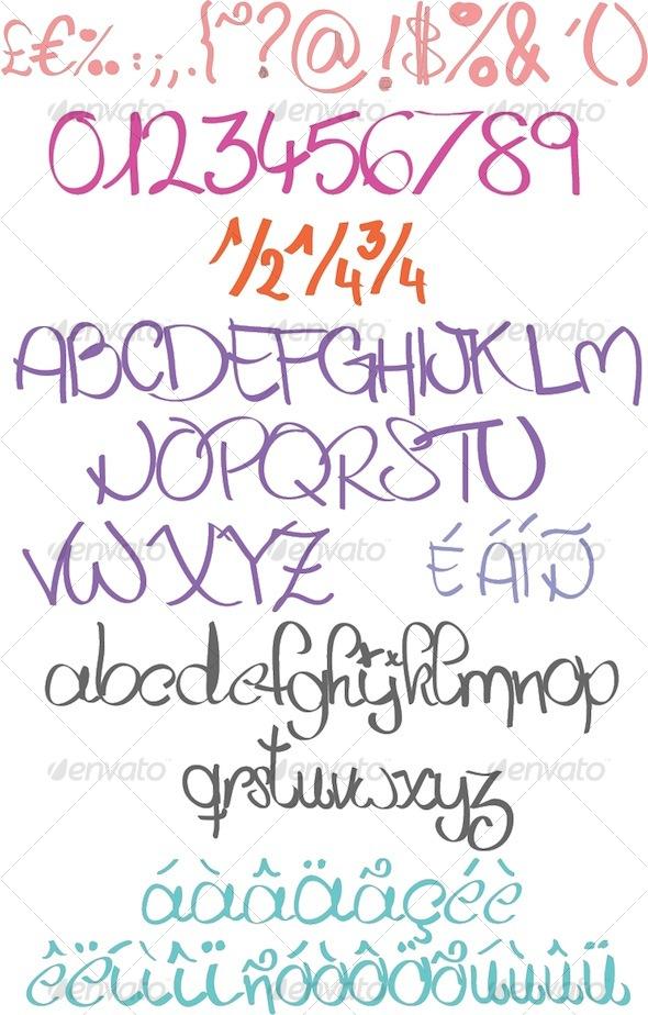 GraphicRiver Handabit 129693