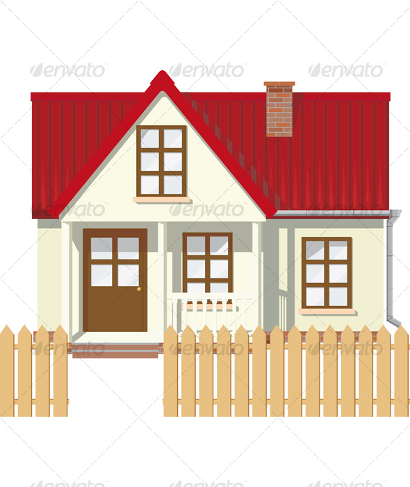 GraphicRiver Small Mansion house 129694