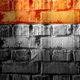 Brick wall with lamps shine - GraphicRiver Item for Sale