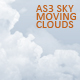 AS3 Sky Moving Clouds - ActiveDen Item for Sale