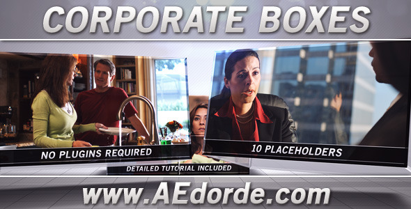 After Effects Project - VideoHive Corporate Boxes 1040597