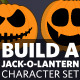Build A Jack-O-Lantern Character Set - GraphicRiver Item for Sale