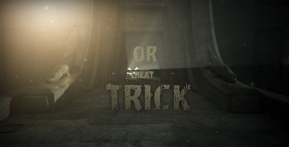 After Effects Project - VideoHive Dark Helloween 130478
