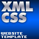 Flash XML CSS Website Template v1.2 (AS 2.0) - ActiveDen Item for Sale