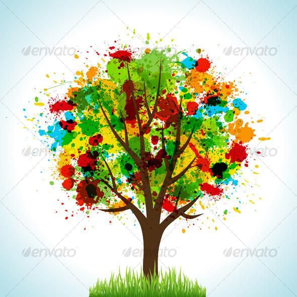 GraphicRiver Tree 130615