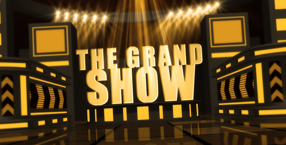 After Effects Project - VideoHive The Grand Show 130782