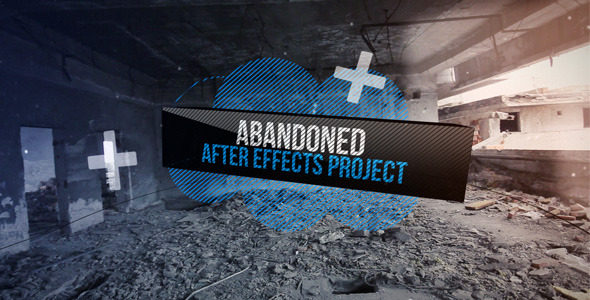 After Effects Project - VideoHive Abandoned 1045647