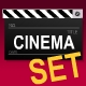 Cinema Animations, Buttons and Clip Art Set - ActiveDen Item for Sale