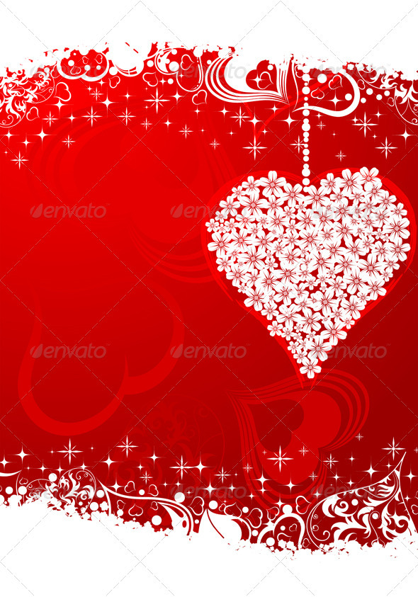 Graphic River Valentines Day frame Vectors -  Conceptual  Seasons/Holidays  Valentines 1049931