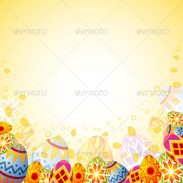 Graphic River Easter frame Vectors -  Conceptual  Seasons/Holidays  Miscellaneous 1049977