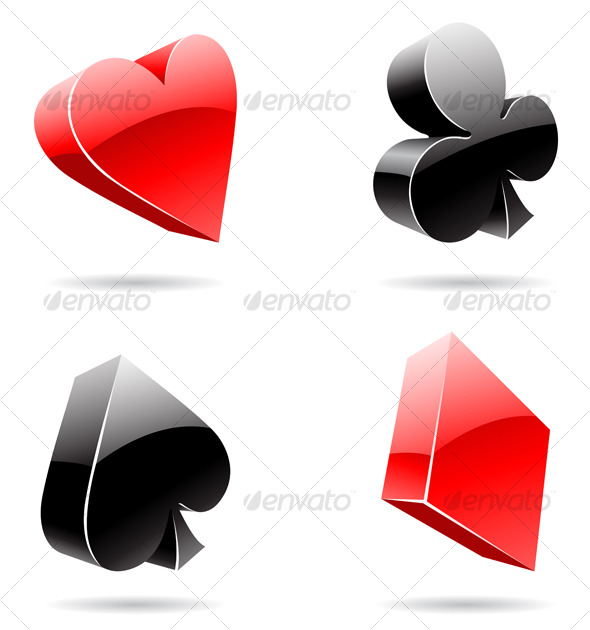 Playing Cards Hearts Card Suit Design Playing Card