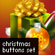 Christmas Buttons Set - GraphicRiver Item for Sale