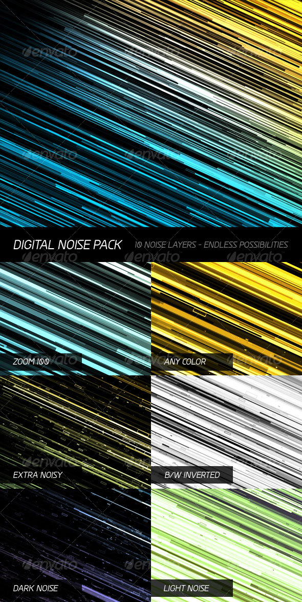 GraphicRiver Digital Noise Pack 43522