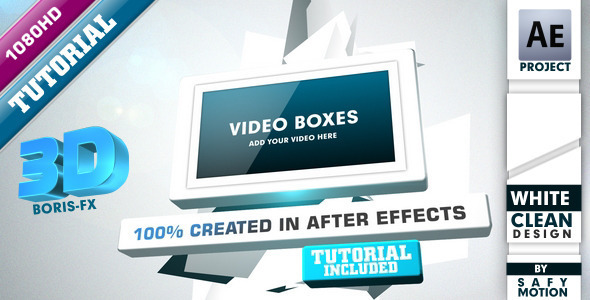 After Effects Project - VideoHive Video Boxes 806814