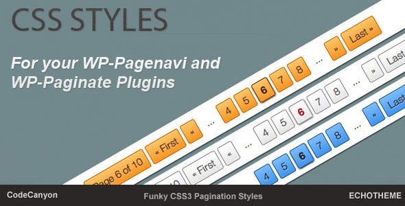 Css Styles for Your Wp-Pagenavi Plugin