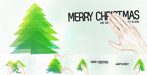 After Effects Project - VideoHive Touch Christmas Video Greeting Card 10540 ...