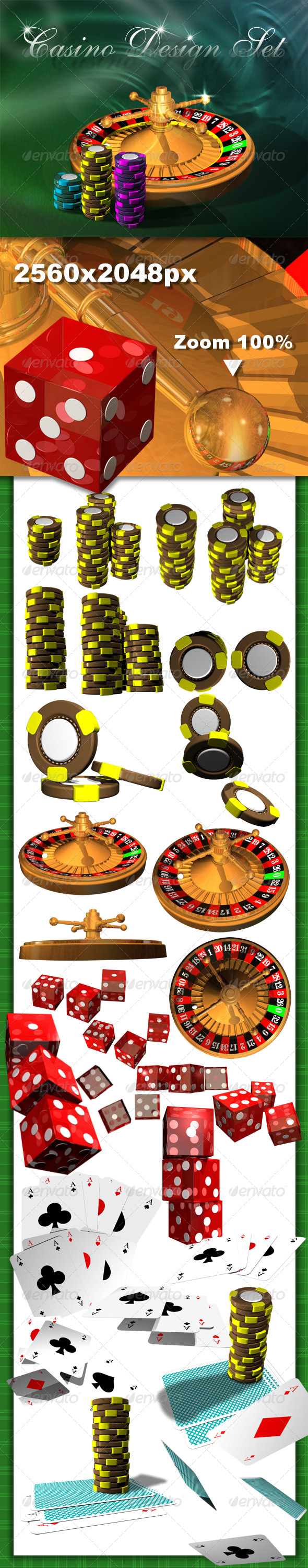 GraphicRiver Casino Design Set 131980