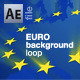 euro background loop - VideoHive Item for Sale