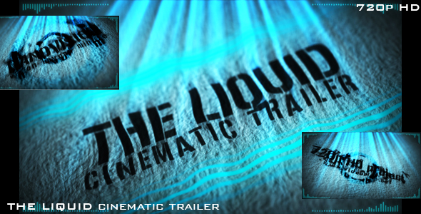 After Effects Project - VideoHive The Liquid cinematic trailer 132109