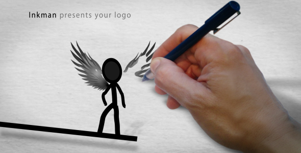 After Effects Project - VideoHive Inkman presents your logo AE project 1321 ...