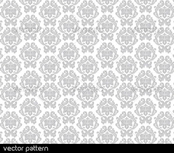 GraphicRiver Floral Vector Pattern 43057