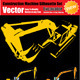 Vector Excavator Silhouette Set - GraphicRiver Item for Sale