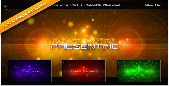 After Effects Project - VideoHive Explosive Intro 127554