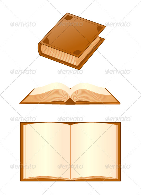 Graphic River Books Vectors -  Objects 1067400