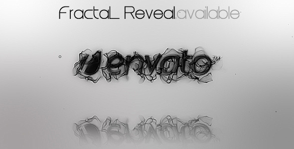 After Effects Project - VideoHive FractaL Reveal 132831