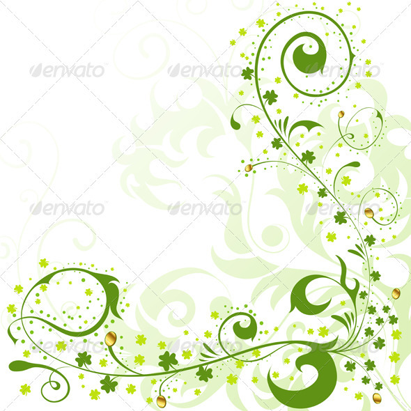 Graphic River St Patrick Day border Vectors -  Conceptual  Seasons/Holidays  Miscellaneous 1069016
