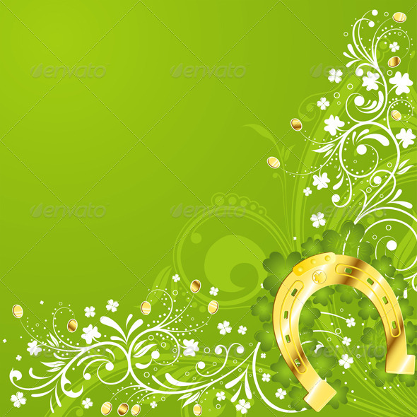 Graphic River St Patrick Day frame Vectors -  Conceptual  Seasons/Holidays  Miscellaneous 1069023