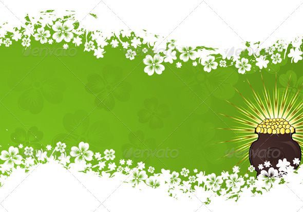 Graphic River St Patrick Day frame Vectors -  Conceptual  Seasons/Holidays  Miscellaneous 1069047