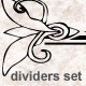 Ottoman style dividers set - GraphicRiver Item for Sale