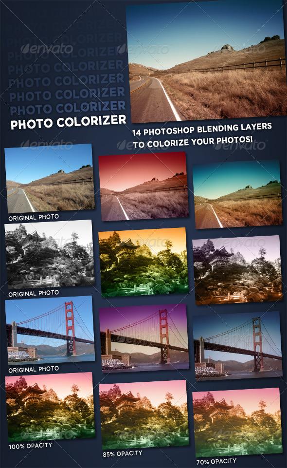 GraphicRiver Photo Colorizer 123189