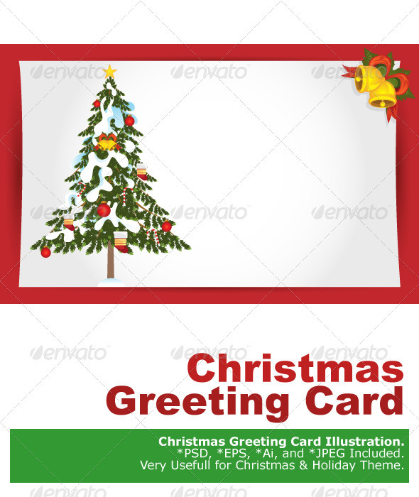 Graphic River Christmas Greeting Card Vectors -  Conceptual  Seasons/Holidays  Christmas 1074171