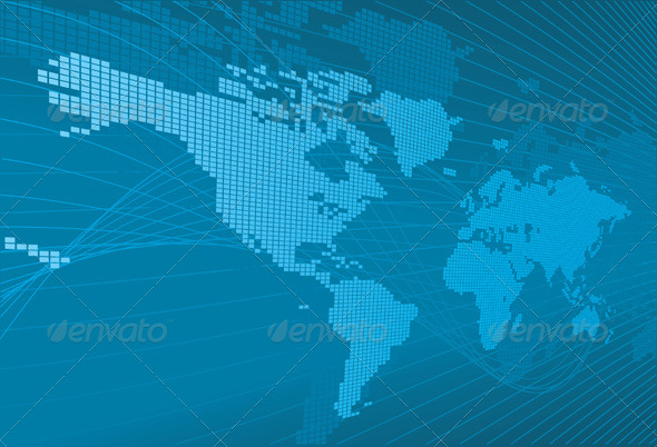 GraphicRiver Corporate World Business Background 133796