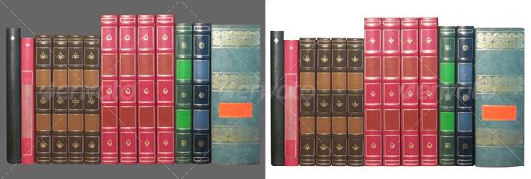 GraphicRiver Old books 44329