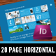 Metro I – 20 Page horizontal Sales Brochure - GraphicRiver Item for Sale